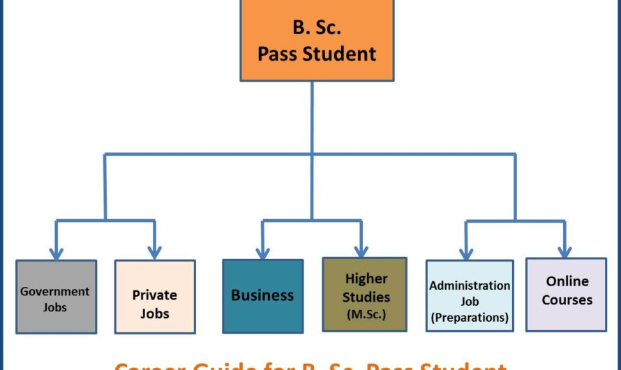 Career Guide for B.Sc. Pass Student