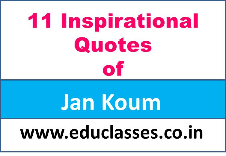 11 Inspirational Quotes of Jan Koum