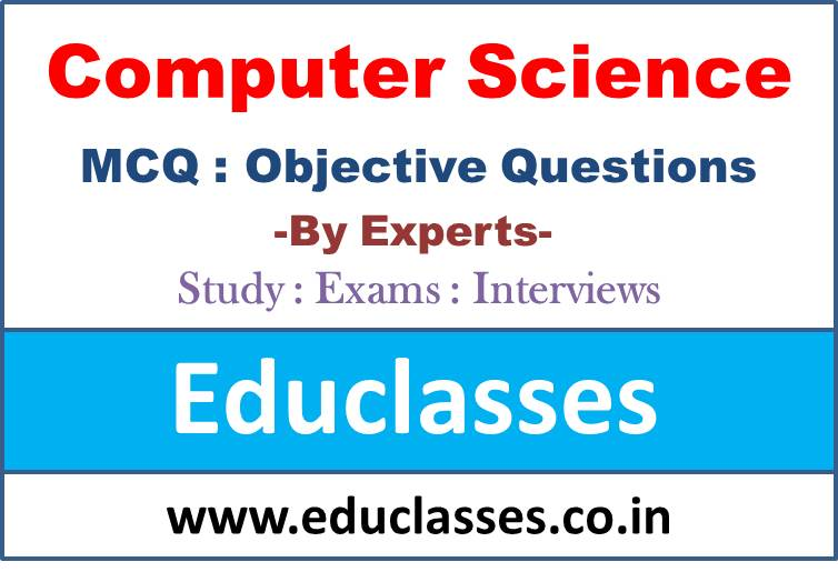 Computer Science MCQ Test Series – 1