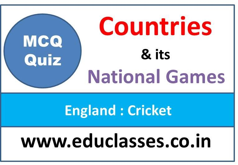 Countries and its National Game MCQ Series Quiz