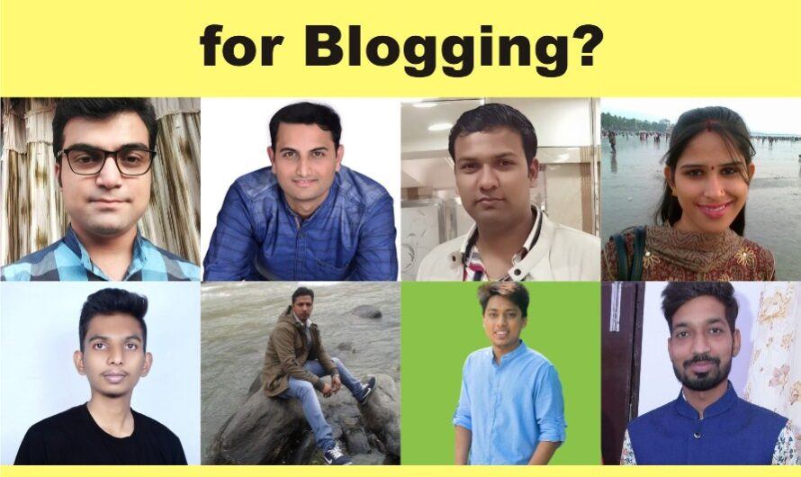 How to start a new Blog for Blogging?