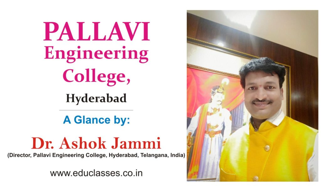 a-glance-by-dr-ashok-jammi-pallavi-engineering-college